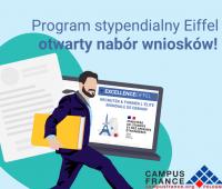 Program stypendialny Eiffel – otwarty nabór wniosków!