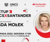 Magda Mołek gościem wirtualnego spotkania na UMCS