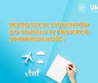 Rekrutacja studentów do udziału w projekcie...
