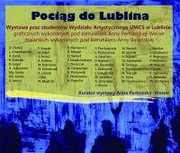 """Wystawa """"Pociąg do Lublina"""""""