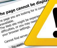 Niedostępność niektórych usług informatycznych