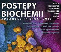 """Zeszyt specjalny """"Postępów Biochemii"""""""