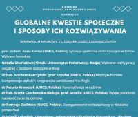 Globalne kwestie społeczne i sposoby ich rozwiązywania