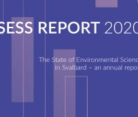 SESS annual report on Svalbard monitoring studies