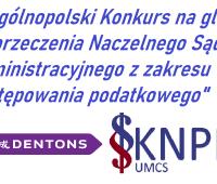I Ogólnopolski Konkurs na glosę do orzeczenia Naczelnego...