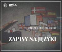 ZAPISY NA JĘZYKI W DNIACH 19.02.-21.02.