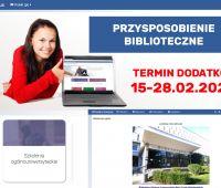 Przysposobienie biblioteczne - termin dodatkowy