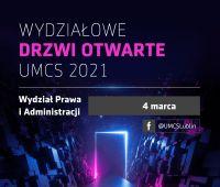Wydziałowe Drzwi Otwarte - Wydział Prawa i Administracji