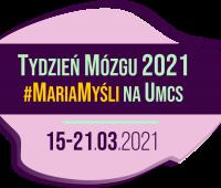 Tydzień Mózgu #MariaMyśli na UMCS - harmonogram