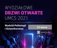 Wydziałowe Drzwi Otwarte - Wydział Politologii i...