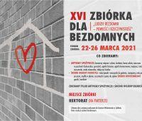 Zbiórka darów dla osób bezdomnych (22-26 marca)