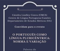 """Wykład prof. Paulo Osório """"Portugalski jako język..."""