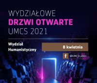 Wydziałowe Drzwi Otwarte - Wydział Humanistyczny