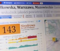 Dr Mateusz Dobek o problemie smogu w Polsce