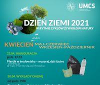 Dzień Ziemi 2021 na Wydziale Nauk o Ziemi i Gospodarki...