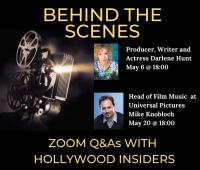 Spotkanie z twórcami z Hollywood - 6 i 20 maja br