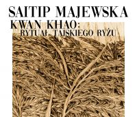 """Invitation to exhibition """"Kwan Khao"""" by Saitip..."""