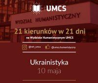 """Ukrainistyka - """"21 kierunków w 21 dni"""""""