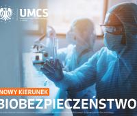 Nowy kierunek - Biobezpieczeństwo (studia I stopnia)