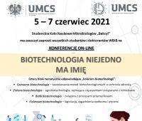 """Konferencja """"Biotechnologia niejedno ma imię"""""""