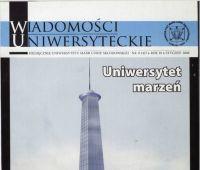 """Cykl """"Z archiwum Wiadomości Uniwersyteckich"""""""