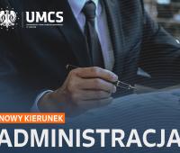 Nowy kierunek - Administracja (studia I stopnia)