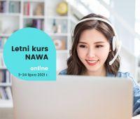 Letni kurs NAWA online 3-24 lipca - zapraszamy