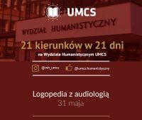 """Logopedia z audiologią - """"21 kierunków w 21 dni"""""""