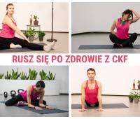 Ćwiczenia z elementami jogi - Rusz się po zdrowie z CKF #12