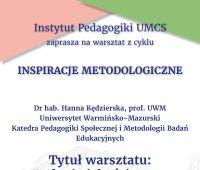 Inspiracje metodologiczne