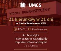 Archiwistyka i nowoczesne zarządzanie zapisami...