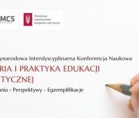 """Konferencja Naukowa """"Teoria i Praktyka Edukacji..."""
