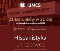 """Hispanistyka - """"21 kierunków w 21 dni"""""""