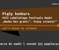 V Konkurs - Let's enjoy my science