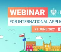 International webinar for Candidates for studies at the UMCS