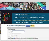 Rejestracja projektów na XVII Lubelski Festiwal Nauki