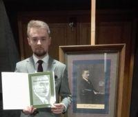 Award of the National Foundation Roman Dmowski for a...