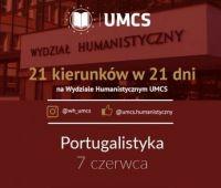 21 kierunków w 21 dni - Portugalistyka