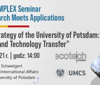 28th June 2021 - ECOTECH-COMPLEX Seminar. Where Research...