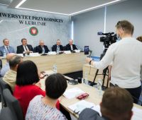 Signing an agreement within the Union of Lublin Universities