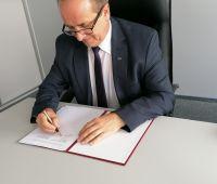 Podpisanie umowy o współpracy z Politechniką Dniprowską