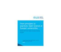 Raport dotyczący otwartej nauki opublikowany przez EUA