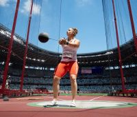 Malwina Kopron wins bronze at the XXXII Olympic Games