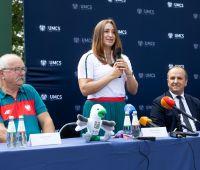 Malwina Kopron odwiedziła UMCS