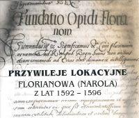 Prof. H. Gmiterek wydał przywileje lokacyjne Florianowa...