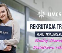 Dodatkowa rekrutacja - studia I stopnia, specjalności...