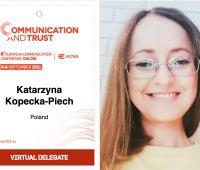 dr hab. Kopecka-Piech w zarządzie sekcji mediatyzacji ECREA