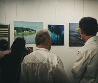 Invitation to the exhibition of works by graduates of...