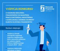 V edycja Konkursu o Nagrodę Rzecznika Finansowego za...