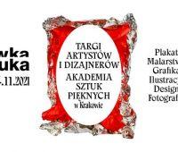 Zaproszenie na targi artystów i dizajnerów Nówka Sztuka
